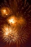 Fireworks. Brightful fireworks in London, UK Stock Image