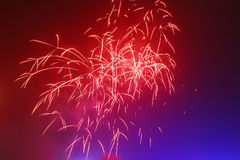 Fireworks. An image of beautiful fireworks celebration Royalty Free Stock Photos