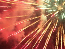 Fireworks. Fire works in my city Royalty Free Stock Photo