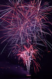 Fireworks. Colorful fireworks on the 9 of may in Sevastopol, Ukraine Royalty Free Stock Photo