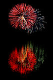 Fireworks 2. A picture of fireworks Royalty Free Stock Photography