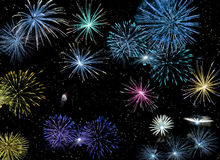 Fireworks #2 Royalty Free Stock Photography