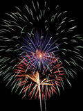 Fireworks. A colorful fireworks display Royalty Free Stock Images