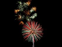 Fireworks. Fourth of July Fireworks Royalty Free Stock Photos