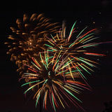 Fireworks. ! royalty free stock image