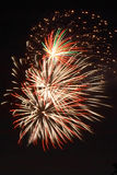 Fireworks. ! Royalty Free Stock Photos