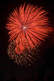 Fireworks. ! stock photography