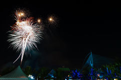 Fireworks. View of fireworks in a festival Royalty Free Stock Photo