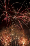 Fireworks. Some beautiful fireworks at night Royalty Free Stock Image