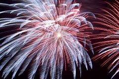 Fireworks (2561b) Royalty Free Stock Image
