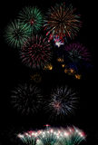 Fireworks. An image of fireworks at night Stock Images