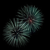 Fireworks. An image of fireworks at night Royalty Free Stock Photography