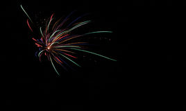 Fireworks. Giving a wnderful night show Stock Photography