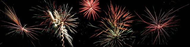 fireworks Στοκ Εικόνες
