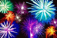 Fireworks 3 royalty free stock photos