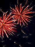Fireworks 3. Beautiful fireworks with a crisp background Royalty Free Stock Images