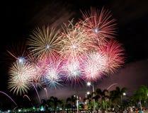 fireworks Στοκ φωτογραφία με δικαίωμα ελεύθερης χρήσης