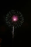 Fireworks. Show and in pennsylvania Stock Image