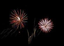 Fireworks. New Year Fireworks (Scheveningen 2007 royalty free stock photography