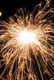 Fireworks. Sparkle large Stock Images