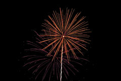 Fireworks. 4th of July fireworks stock photo