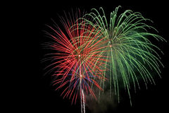 Fireworks. 4th of July fireworks stock image