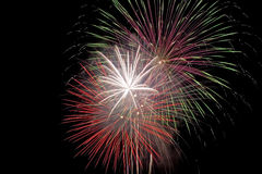 Fireworks. 4th of July fireworks Royalty Free Stock Photos