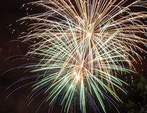 Fireworks. Multiple Fireworks, Canada Day Celebration Stock Images