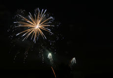 Fireworks #4.  Royalty Free Stock Image