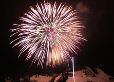 Fireworks. 4 th july Royalty Free Stock Photography