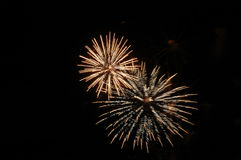Fireworks. Image taken of fireworks at a show Stock Photography