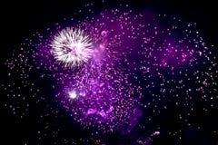 2 fireworks Στοκ φωτογραφίες με δικαίωμα ελεύθερης χρήσης