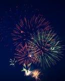 Fireworks 5 royalty free stock photo