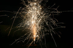 Fireworks 5 royalty free stock photos