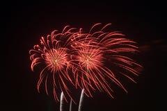 Fireworks. Fourth of July Fireworks at a celebration Stock Photo