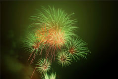 Fireworks. Charity firework display,november 5th warwick england Royalty Free Stock Image