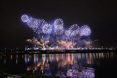 Free Fireworks Royalty Free Stock Photo - 74748775