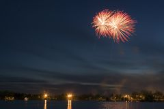 Fireworks. Display Royalty Free Stock Photo