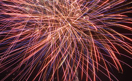 Fireworks. Fourth of July fireworks celebration royalty free stock images