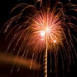 Fireworks. Display royalty free stock image