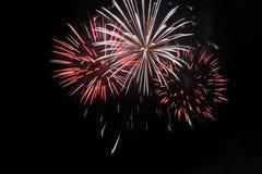 Fireworks. Queensday Fireworks Scheveningen 2006 stock photo