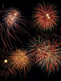 Fireworks. Different fireworks - high resolution Stock Photos