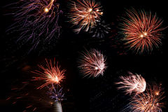 Fireworks. High resolution - different fireworks Stock Photography
