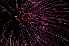 Fireworks 9 Royalty Free Stock Photography