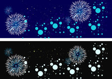 Fireworks. Background - seasonal time used this background Royalty Free Stock Images