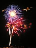 Fireworks. 4rth of July fireworks Stock Photo