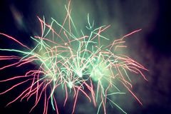 Fireworks. Abstract fireworks royalty free stock photos