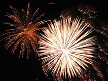Fireworks. Display Royalty Free Stock Photography