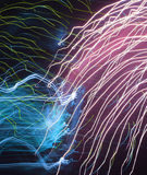 Fireworks abstract Royalty Free Stock Photos