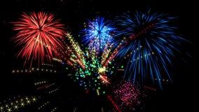 Fireworks animation . HD